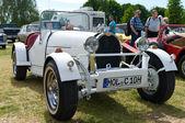 "PAAREN IM GLIEN, GERMANY - MAY 26: Sports Car Bugatti Type 43 Grand Sport in 1928, ""The oldtimer show"" in MAFZ, May 26, 2012 in Paaren im Glien, Germany — Foto Stock"