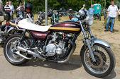 "PAAREN IM GLIEN, GERMANY - MAY 26: Motorcycle Kawasaki Z1000, ""The oldtimer show"" in MAFZ, May 26, 2012 in Paaren im Glien, Germany — Stock Photo"
