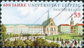 GERMANY - CIRCA 2009: A stamp printed in Germany, is dedicated to the 600th anniversary of the University of Leipzig, circa 2009 — Stock Photo