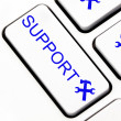 Support button on keyboard — Stock Photo #11952404