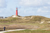 Landscape of the dutch isle Schiermonnikoog — Foto de Stock