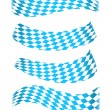 Set of bavarian banners — Stock Vector