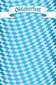 Oktoberfest kutlamaları tasarım arka plan — Stok Vektör