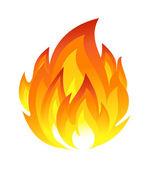 Symbole du feu — Vecteur