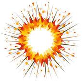 Explosión — Vector de stock