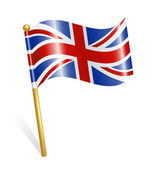 Country UK flag — Stock Vector
