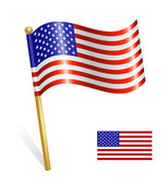 USA Country flag — Stock Vector