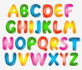 Alphabet letters — Stock Vector