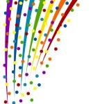 Colorful confetti background. Vector Illustration — Stock Vector #11953002