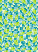 Colorful mosaic background. Vector-Illustration — Vector de stock
