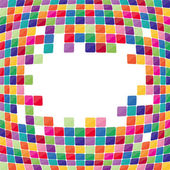 Colorful mosaic background. Vector-Illustration — 图库矢量图片