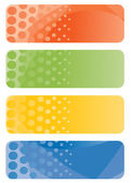 Set of abstract banners. Vector-Illustration — Stock Vector