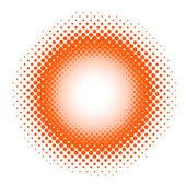 在红色斑点的背景 — 图库矢量图片