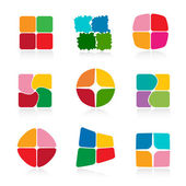 Set of icons. Vector-Illustration — Stock Vector