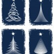 Christmas tree design. Vector-Illustration. — Stock Vector #11963823
