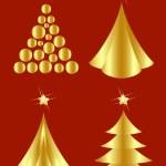 Christmas tree design. Vector-Illustration. — Stock Vector