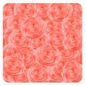 Pink roses background. Vector-Illustration. — Stock Vector