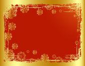 золотой рождественский фон дизайн. векторная иллюстрация. — Cтоковый вектор