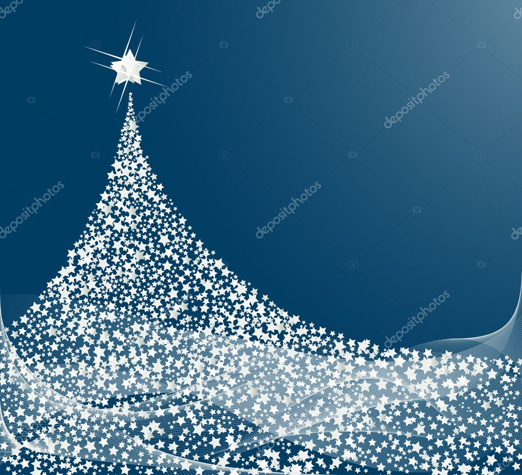 Christmas tree design. Vector-Illustration.  Stock Vector #11963853