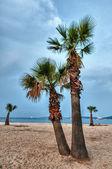 Beach in france — Stock Photo