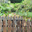 Wood Fence - Stock Photo