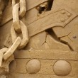 Sand sculpture — Stock Photo #11888610
