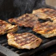 Steak meat on BBQ — Stock Photo #11889258