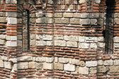 ένα παλιό ρωμαϊκό τείχος — Φωτογραφία Αρχείου