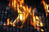 Fire BBQ — Stock Photo