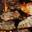 Steak meat on BBQ — Stock Photo #11890761