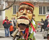 Mask parade - kukeri — Stock Photo