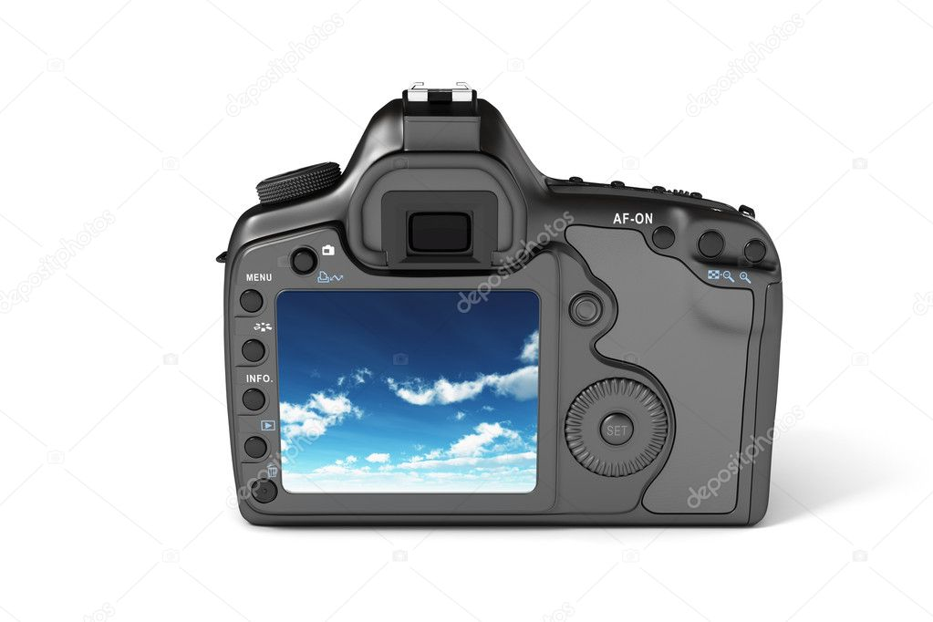 Digital Camera Reflex — Stock Photo #11951125
