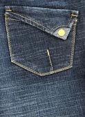 Kot pantolon cebinde — Stok fotoğraf