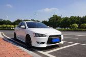白い車 — ストック写真