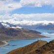 Tibet lake — Stock Photo