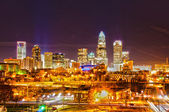 Charlotte the queen city — Stock Photo