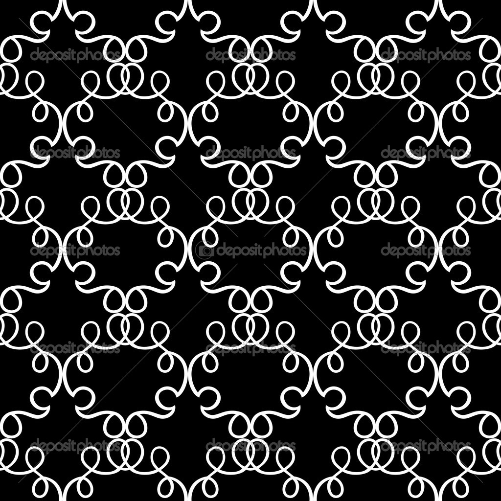 abstract damask background black and white fashion. Black Bedroom Furniture Sets. Home Design Ideas