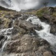 Stock Photo: Welsh Waterfall