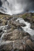 Welsh Waterfall — Stock Photo