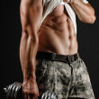 Body building — Stock Photo #11983211