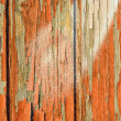 Peeling paint on old wood background — Stock Photo #11983279