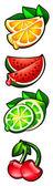 Gioco frutta — Foto Stock