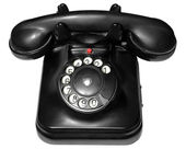 Old phone on white isolated background — Stock Photo