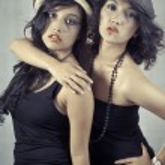 Duo Female 2. — Stock Photo