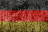 Bandera alemana (Grunge) — Foto de Stock