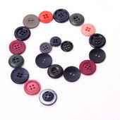 Espiral de botões — Foto Stock
