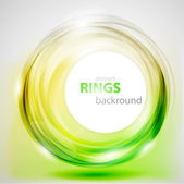 Abstract rings background — Stock Vector