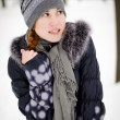 Girl is very cold — Stock Photo #12204087