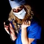 Doctor light stethoscope — Stock Photo