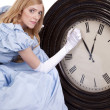 Stock Photo: Princess changing time
